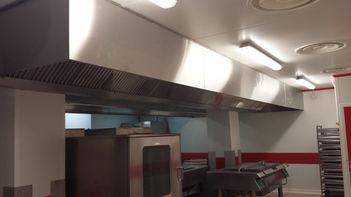 ... Design Hotte Professionnelle Sans Extraction : Installateur De Cuisines  Professionnelles U2013 Froid Equipement Service ...