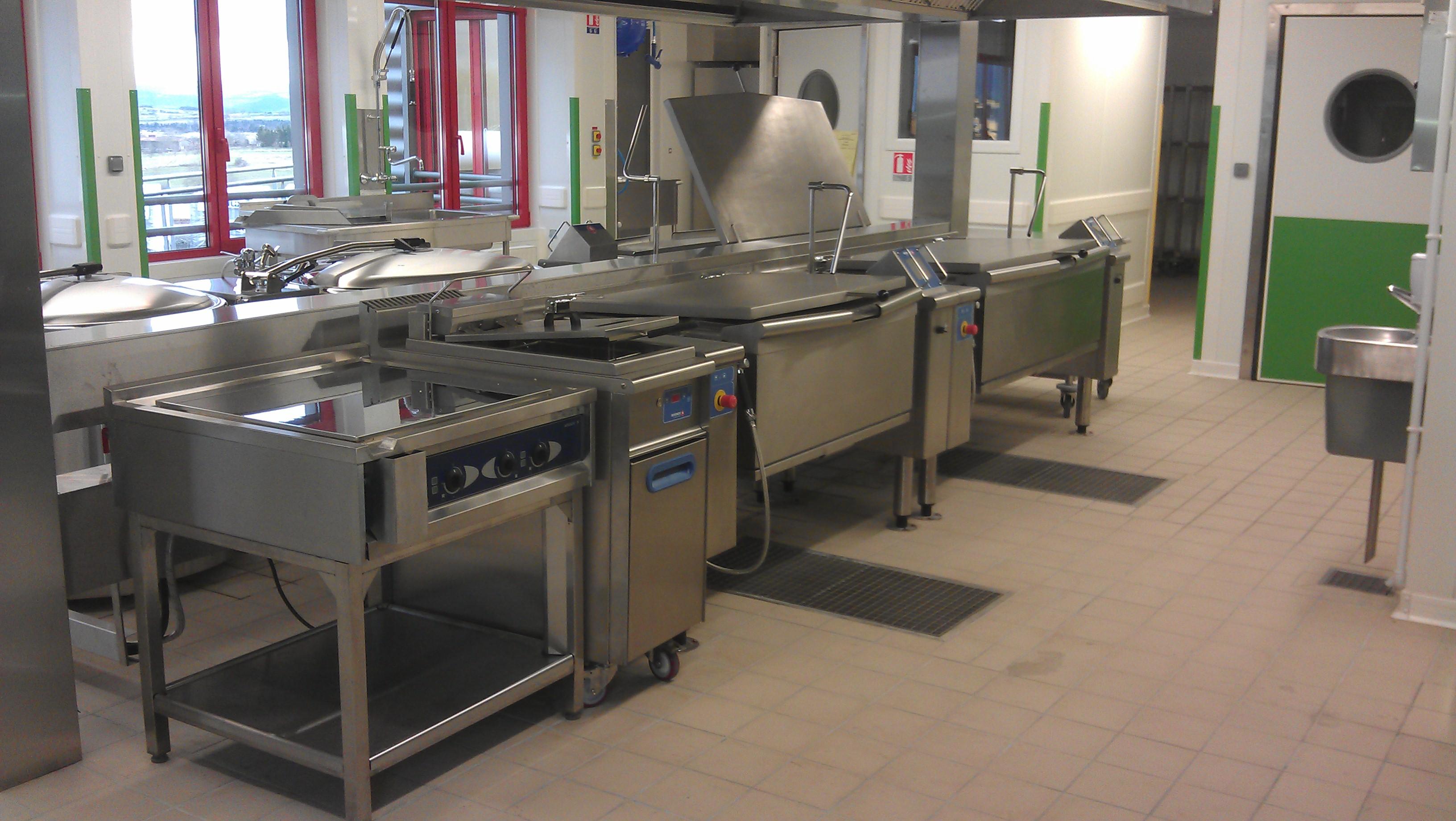 Cuisine centrale froid equipement service for Cuisine centrale